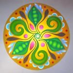 Healing Mandala, Pea pods